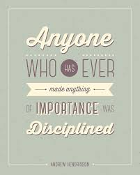 Discipline Quote Poster Words And Sayings Discipline Quotes