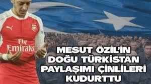 Mesut Özil Doğu Türkistan resimleri ile ilgili görsel sonucu