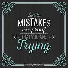 Learning From Mistakes Quotes Interesting Learning From Mistakes Quotes Awesome Mistakes Quote With Vintage