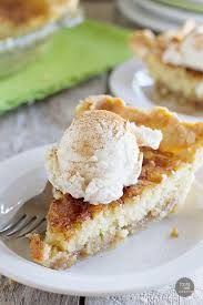 pie meets snickerdoodle cookie in this addictive snickerdoodle pie a pie crust is topped with