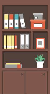 cartoon bookshelf bookshelf bookcase cartoon png and vector