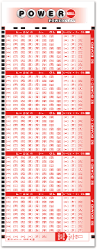 Powerball Frequency Chart Tn Powerball