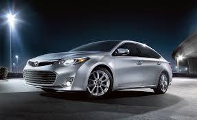 Toyota Avalon Model Comparison