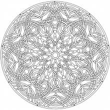 Small Picture Neoteric Printable Mandala Coloring Pages For Adults Coloring Page