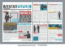 Format Newspaper Template Free Download Fake Headline Definition ...