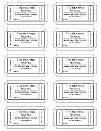 template raffle tickets 28 fresh photos of raffle ticket template excel template ideas