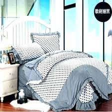 polka dots bedspread dot bedding black and white comforters quilts cotton sheets pink all s bedroom sheet set q