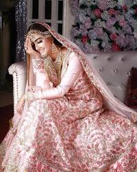 Light Pink Indian Wedding Dress Gorgeous Floral Pink Lehenga For An Indian Wedding See More