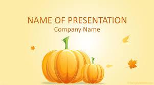 Pumpkin Powerpoint Template Templateswise Com