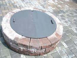 metal fire pit cover. Fire Pit Lid New Round Steel Cover Diameter Metal P