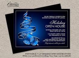 Business Event Invitation Template Beautiful Business Open