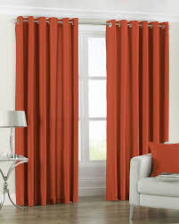 Orange Curtains Living Room Eyelet Curtains Next Day Delivery Eyelet Curtains From
