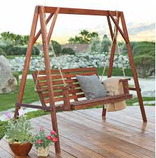 Classics are classics for a reason. This porch swing is a classic and  simple design