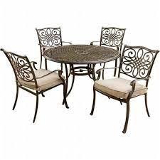 aluminum cast dining chairs