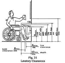 handicap bathroom layouts commercial. ada knee space at lavatory handicap bathroom layouts commercial n