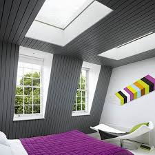 Loft Bedrooms Bedroom Decorate Modern Attic With King Sized Bed And Blue