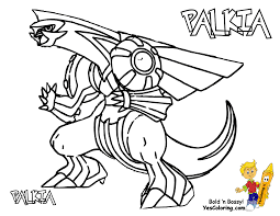 Small Picture Pokemon Coloring Pages Palkia Coloring Pages