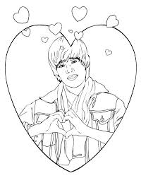 justin bieber coloring page coloring top 7 cool and handsome coloring pages for fever coloring pages justin bieber coloring page