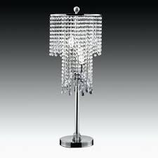 bead table acrylic crystal chandelier parts and lamp parts table