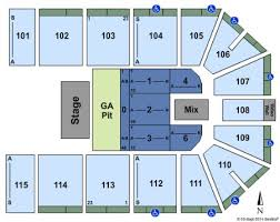 Hartman Arena Tickets And Hartman Arena Seating Chart Buy