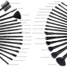 eye makeup brushes and their uses. amazon.com: makeup brush set, uspicy 32 pieces professional brushes essential cosmetics with case, face eye shadow eyeliner foundation blush lip and their uses m