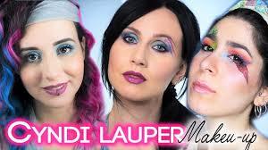 cyndi lauper inspired makeup