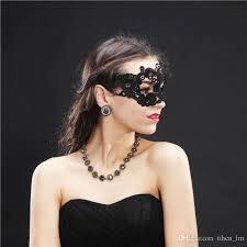 10pcs lace mask makeup masquerade ball venetian crown christmas romance elegant hollow night party masks