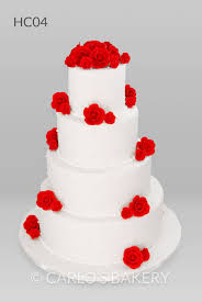 Carlos Bakery Hall Wedding Cake Designs