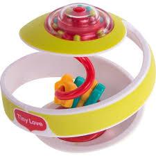 Развивающая игрушка <b>Tiny Love Чудо</b>-<b>шар</b>, цвет: <b>зеленый</b> 15 см ...