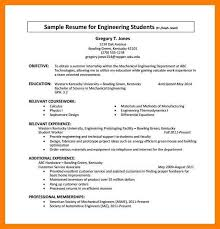 Cv Format For Internship Internship Resume Template 11 Free Word