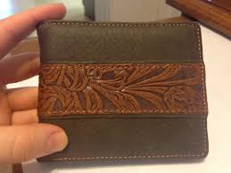 montana west fl tooling men s wallet western cowboy bifold leather wallet