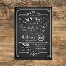 wedding reception only invitation wording samples google search Wedding Reception Only Invitations chalkboard diy reception only invitation template wedding reception only invitations wording