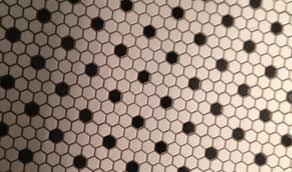 black and white tile floor. Inspirations Black And White Tile Floor Bathroom Hexagonal Tiles O