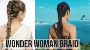 Wonder Woman Hair Style wonder woman braid hair tutorial kayleymelissa youtube 5568 by wearticles.com