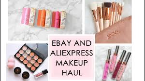makeup haul all my beauty s from aliexpress