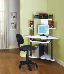 computer desk small spaces. Computer Desk For Small Spaces Amusing L Shaped Space Fresh On Decorating Charming