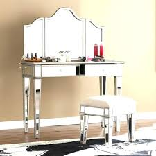 vanity mirror desk makeup furniture pier one target