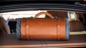 Aston Martin Dbx Has Accessories Aplenty Including Gun Cabinet