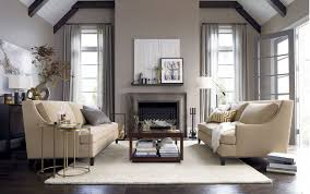 Living Room With Fireplace Design Dazzling Simple Living Room Design With Cream Loveseat And Wooden