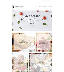 Food And Beverages Creative Blog Wordpress Theme