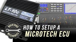 how to setup a microtech ecu backyard mechanics fullboost youtube Light Switch Wiring Diagram at Microtech Mt4 Wiring Diagram