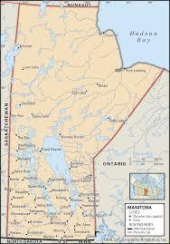 Manitoba History Facts Map Britannica