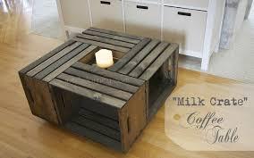 building a milk crate coffee table joy 2 journey