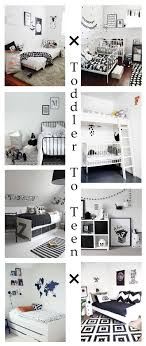 Monochrome Bedroom Design Monochrome Kids Bedroom The Only Girl In The House