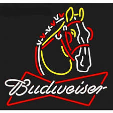 Neonetics Wall Lighting Budweiser Clydesdale Neon Sign