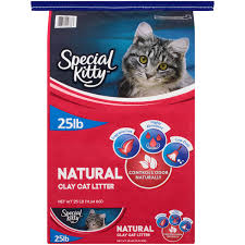 special kitty natural clay cat litter unscented 25 lb