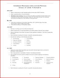 New Medical School Cv Types Of Letter