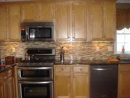 Kitchen Ideas With Black Appliances And White Vinyl Color Oak ~ idolza