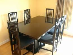 ebay 6 dining chairs best of 93 dining room chairs second hand dining room used table