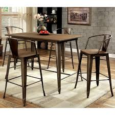 industrial counter height table. Furniture Of America Tripton Industrial 5-Piece Counter Height Dining Set Table I